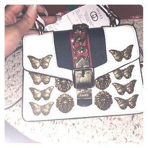 Gucci Sylvie bag with animal embellishments